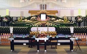 一般葬(ホール仕様)祭壇