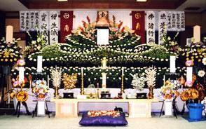 一般葬(嶺南地区)祭壇