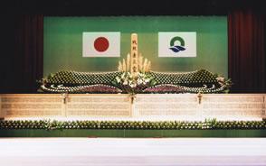 慰霊祭祭壇