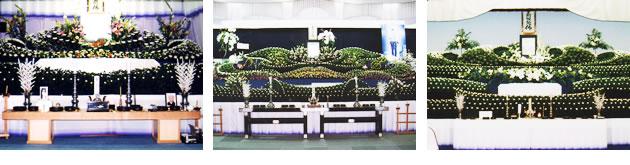 祭壇デザインの例